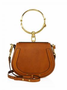 Chloe Caramel Nile Small Bracelet Crossbody Bag