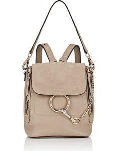 Chloe Gray Faye Small Backpack Bag