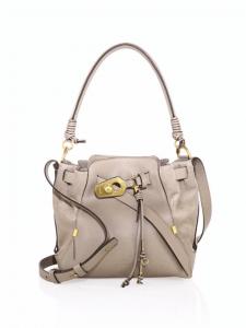Chloe Gray Owen Medium Bucket Bag