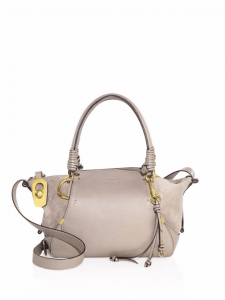 Chloe Gray Owen Small Satchel Bag