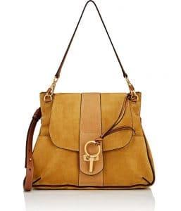 Chloe Mustard Lexa Medium Bag