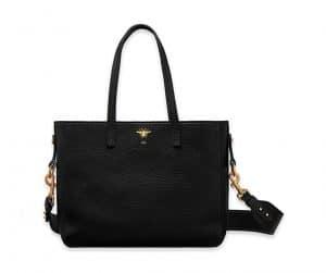 Dior Black D-Bee Shopping Bag