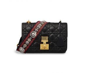 Dior Black Dioraddict Flap Bag