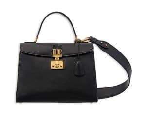 Dior Black Dioraddict Top Handle Bag