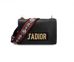 Dior Black J'adior Flap Bag
