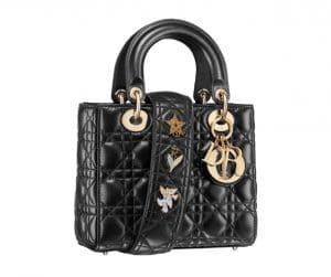 Dior Black Mini Lady Dior Bag