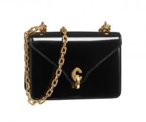 Dior Black Patent C'est Dior Flap Bag