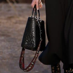 Dior Black Top Handle Bag - Cruise 2018