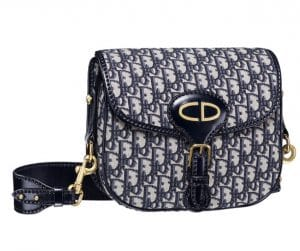 Dior Blue Dior Oblique Saddle Bag