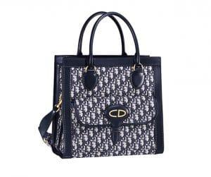 Dior Blue Dior Oblique Tote Bag