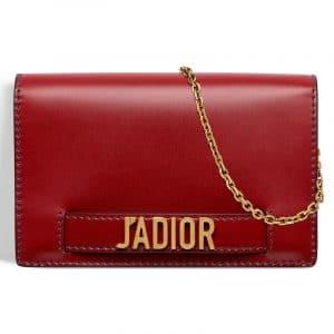Dior J'adior Wallet on Chain Pouch Bag 1