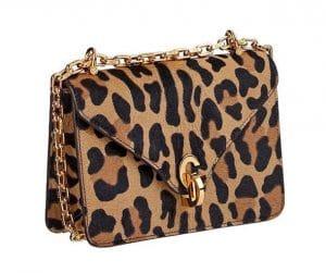 Dior Leopard Calf Hair C'est Dior Flap Bag