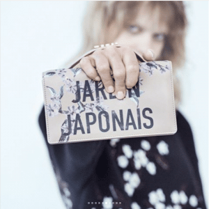 Dior Pink Jardin Japonais Clutch Bag