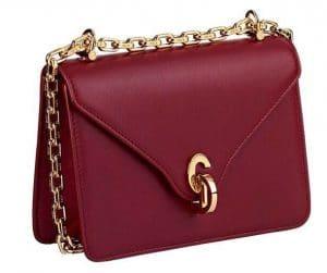 Dior Red C'est Dior Flap Bag