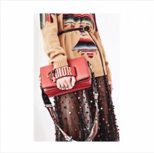 Dior Red Dior Flap Bag - Cruise 2018