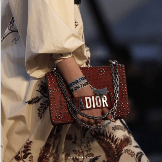 Dior Cruise 2018 Runway Bag Collection