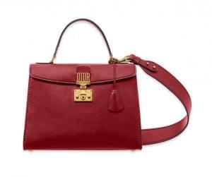 Dior Smooth Red Dioraddict Top Handle Bag