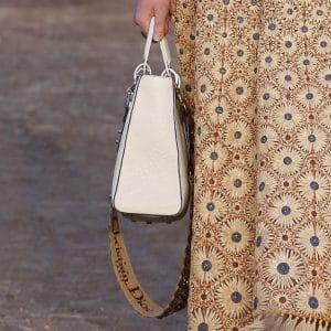 Dior White Tote Bag - Cruise 2018