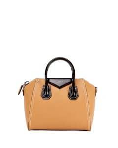 Givenchy Beige/Black Bicolor Small Antigona Bag