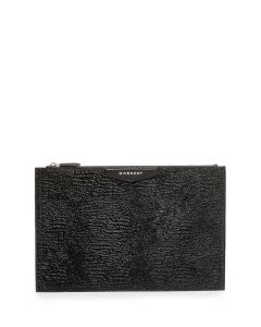 Givenchy Black Astrakhan Fur Large Antigona Pouch Bag
