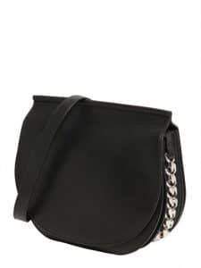 Givenchy Black Infinity Saddle Bag