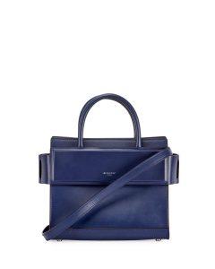 Givenchy Dark Blue Mini Horizon Bag