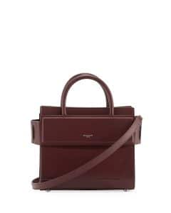 Givenchy Maroon Mini Horizon Bag