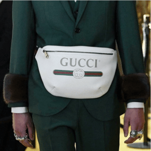Gucci White Logo Belt Bag - Cruise 2018