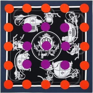 Hermes Casaquissime Double Face Silk Twill Giant Scarf 140