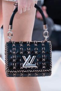 Louis Vuitton Black Braided Twist Bag - Cruise 2018