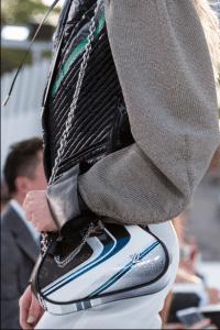 Louis Vuitton Blue/Silver Vernis and Monogram Canvas Shoulder Bag - Cruise 2018