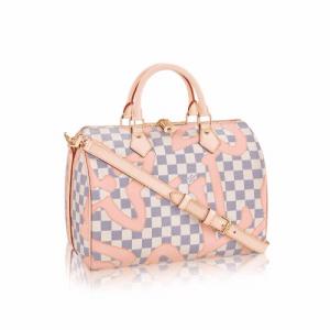 Louis Vuitton Damier Azur Tahitienne Speedy Bandoulière 30 Bag 1