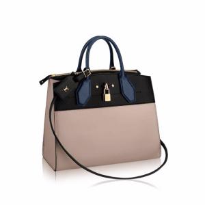 Louis Vuitton Gris Noir City Steamer PM Bag
