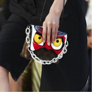 Louis Vuitton Monogram Canvas with Kabuki Eyes Flap Bag 2 - Cruise 2018