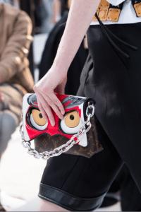 Louis Vuitton Monogram Canvas with Kabuki Eyes Flap Bag - Cruise 2018