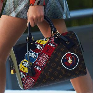 Louis Vuitton Monogram Canvas with Kabuki Print Speedy Bag 2 - Cruise 2018