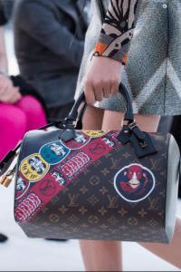 Louis Vuitton Monogram Canvas with Kabuki Print Speedy Bag - Cruise 2018