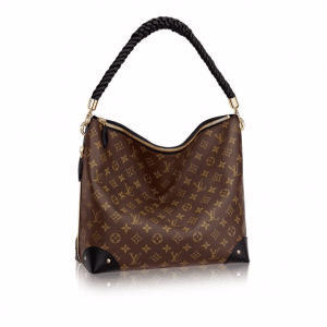 Louis Vuitton Monogram Canvas/Monogram Reverse Triangle Softy Bag