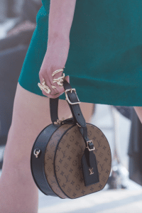 Louis Vuitton Monogram Reverse Mini Hat Box Bag - Cruise 2018