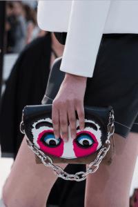 Louis Vuitton Monogram Reverse with Kabuki Eyes Flap Bag 2 - Cruise 2018
