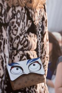 Louis Vuitton Monogram Reverse with Kabuki Eyes Flap Bag - Cruise 2018