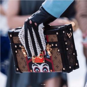 Louis Vuitton Monogram Reverse with Kabuki Eyes Petite Malle Bag 2 - Cruise 2018