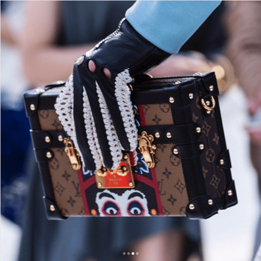 Louis Vuitton Cruise 2018 Runway Bag Collection Spotted Fashion