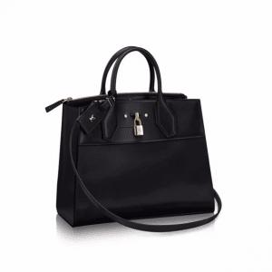 Louis Vuitton Noir City Steamer MM Bag