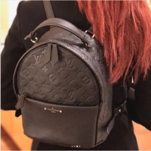 Louis Vuitton Noir Monogram Empreinte Sorbonne Backpack Bag 2
