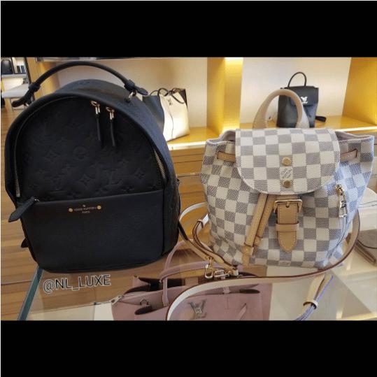 5260742f6416 Louis Vuitton Noir Monogram Empreinte Sorbonne Backpack Bag 3. IG  nl luxe