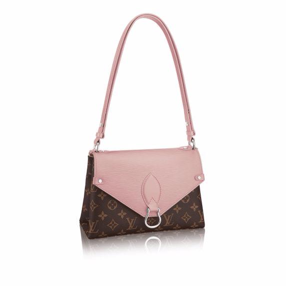 Louis Vuitton Rose Ballerine Epi/Monogram Canvas Saint Michel Bag