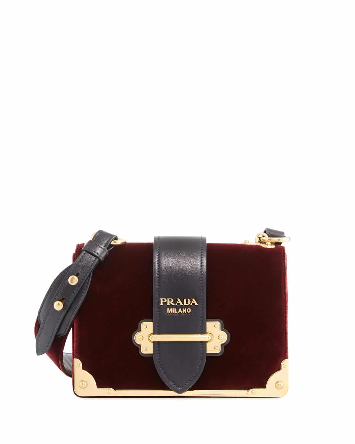 3e6cd357144f ... best price prada burgundy velvet small cahier bag 040e0 d37a5
