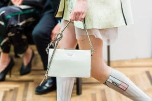 Prada White Shoulder Bag - Resort 2018