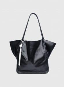 Proenza Schouler Black Leather Extra Large Tote Bag